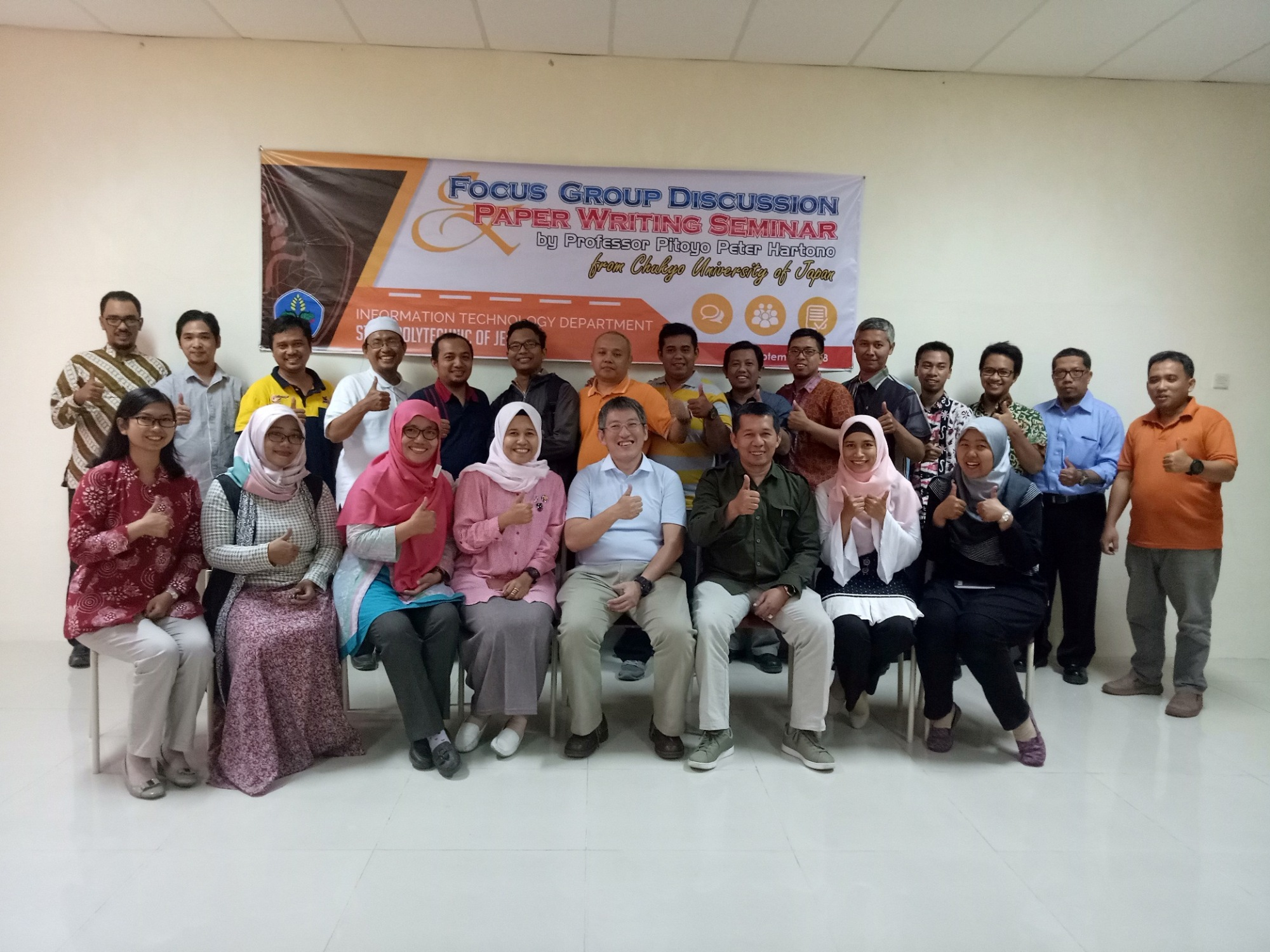 Focus Group Discussion oleh Profesor Pitoyo Peter Hartono dari Chukyo University