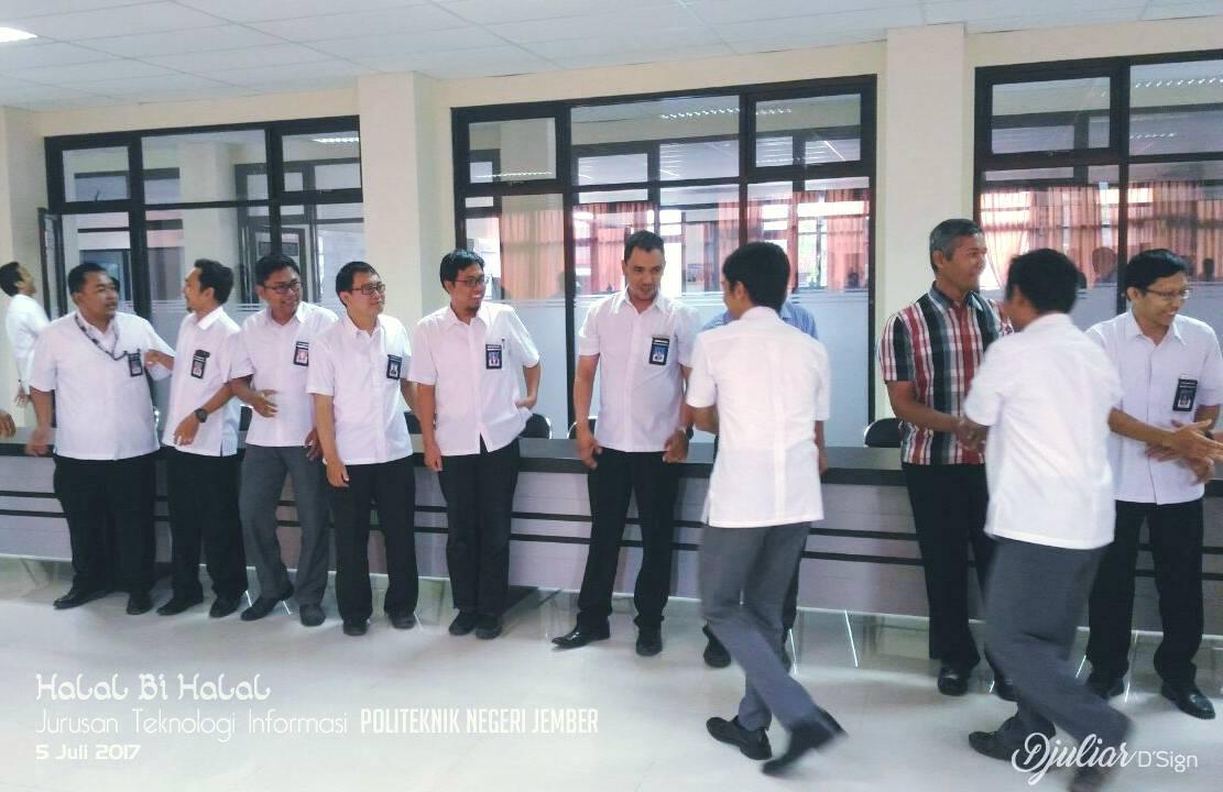 Halal Bihalal Idhul Fitri 1438 H Jurusan Teknologi Informasi
