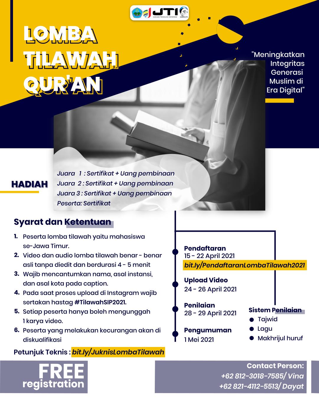 Lomba Tilawah Ramadhan Berkah 2021