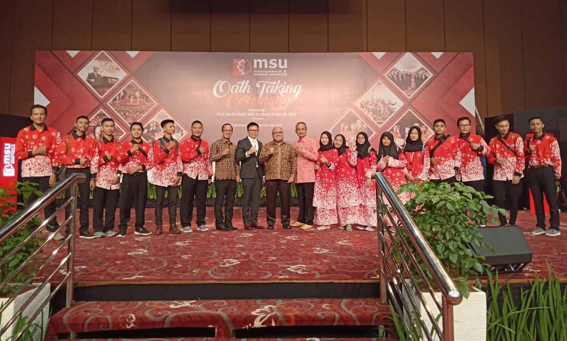 Pengenalan Kampus D4 Teknik Informatika Kelas Internasional di Management and Science University Malaysia