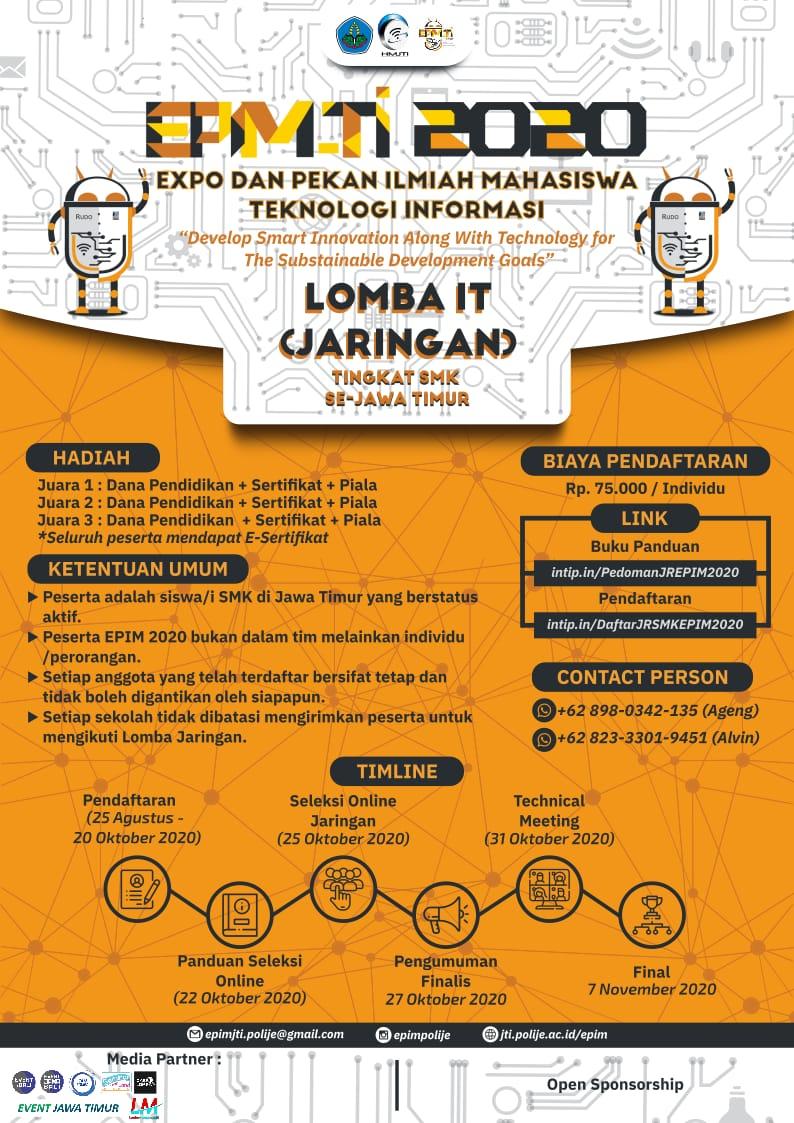 Expo dan Pekan Ilmiah Mahasiswa Teknologi Informasi – EPIM TI