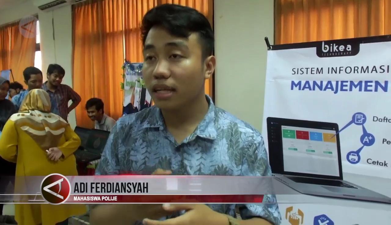 Ragam Aplikasi Medis Hingga Hitung Cepat Pemilu Karya Mahasiswa Politeknik Negeri Jember